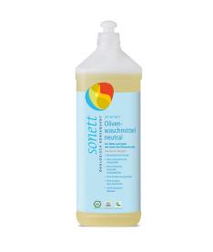 Жидкое оливковое органическое средство Sonett для стирки шерсти и шелка Нейтральное, 1л