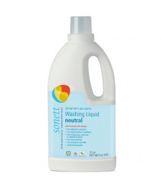 Жидкое органическое средство Sonett для стирки цветного и белого белья Нейтральное, 2л