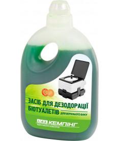 Жидкость для биотуалета Кемпинг, верхний бак 0,8л, Украина