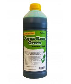 Жидкость для нижнего бака биотуалета Аква Кем Грин Концентрат