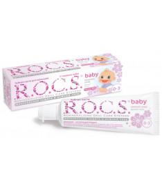 Зубная паста R.O.C.S. baby аромат липы