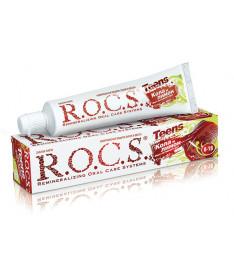 Зубная паста R.O.C.S. Teens Вкус активного дня со вкусом колы и лимона