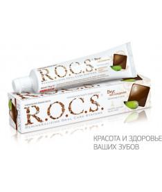 Зубная паста R.O.C.S. Вкус наслаждения со вкусом Шоколада и Мяты
