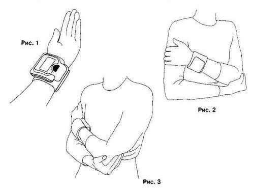 как пользоваться тонометр на плечо фото